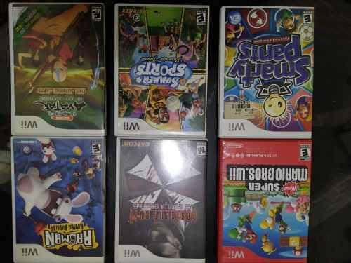 Lote De Juegos De Wii Originales