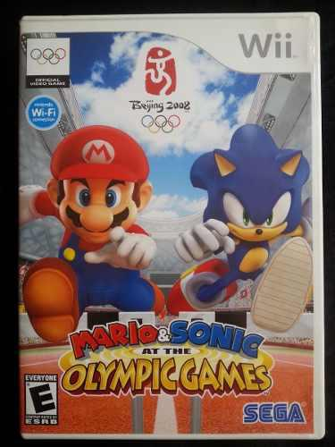 Mario & Sonic At The Olympic Games Wii Juego Envio Gratis