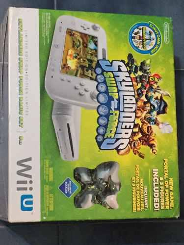 Nintendo Wii U + 12 Juegos + Skylanders + Disney Infinity