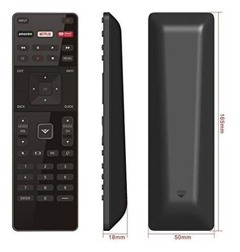 Nuevo Control Remoto Xrt122 Para Vizio Lcd Led Tv D39h-d0 D3