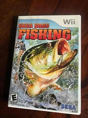 Sega Bass Fishing Juego En Excelentes Condiciones