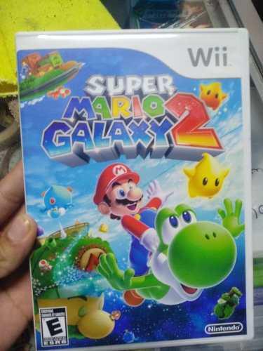 Super Mario Galaxy 2 Juego Wii Usado En Físico
