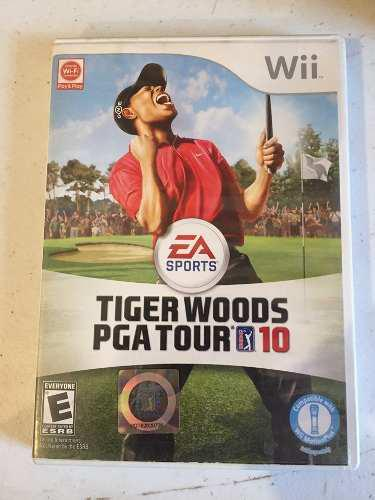 Tiger Woods Pga Tour 10 Wii Juego Fisico