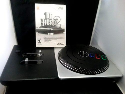 Tornamesa Dj Hero Para Wii Incluye Juego Dj Hero 2