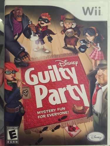 Wii Disney Guilty Party Juego Para Wii