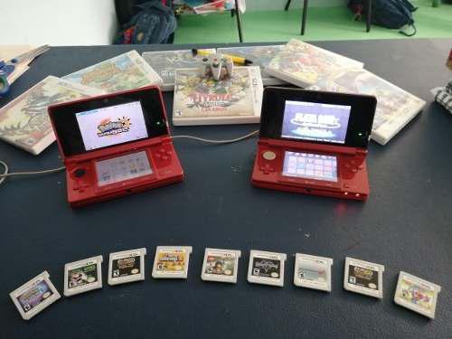 2 Nintendo 3ds Usados En Buen Estado Y 20juegos Originales