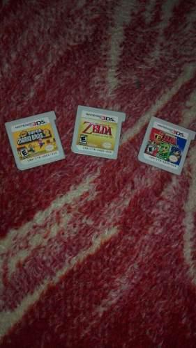 3 Juegos De Nintendo 3ds
