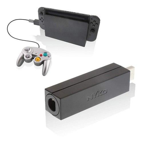 Adaptador De Controles Gamecube Para Nintendo Switch Nyko.