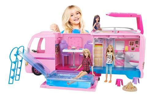 Barbie Camper De Lujo Con 50 Accesorios