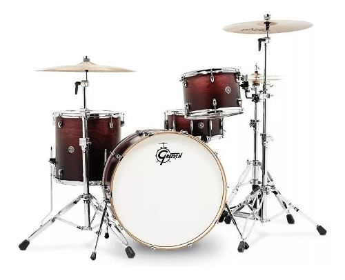 Bateria 4 Pzas Antiguo Gretsch Catalina Club Rock Ct1r444c