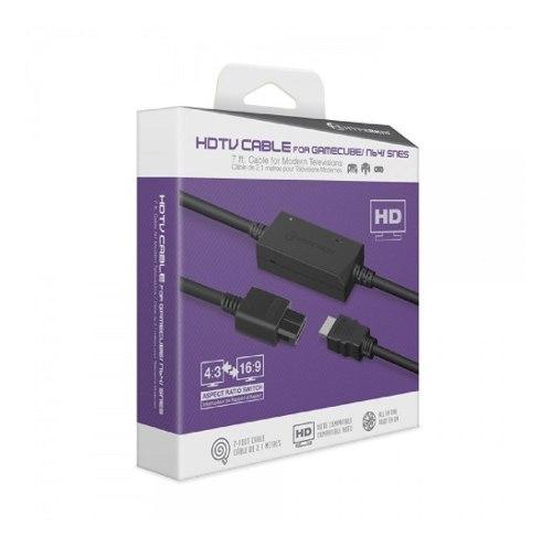 Cable Hdtv Hyperkin Para Gamecube, Nintendo64, Supernintendo