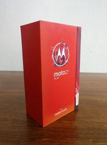 Celular Motorola Z2 Play Motomods Bateria 64gb 4gb Obsequio