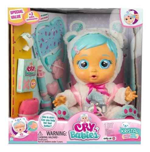 Cry Babies Chilloncitos Luz Y Sonidos Kristal Interactiva