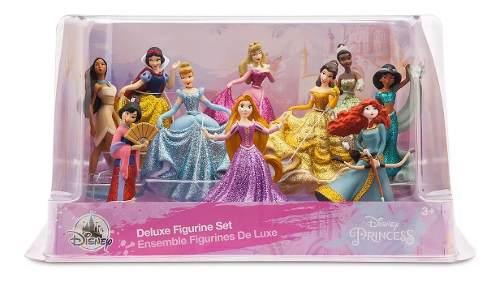 Disney Princesas Set 10 Figuras Deluxe Disney Store