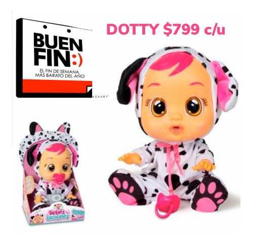Dotty Bebes Llorones Cry Babies Lágrimas Chilloncitos
