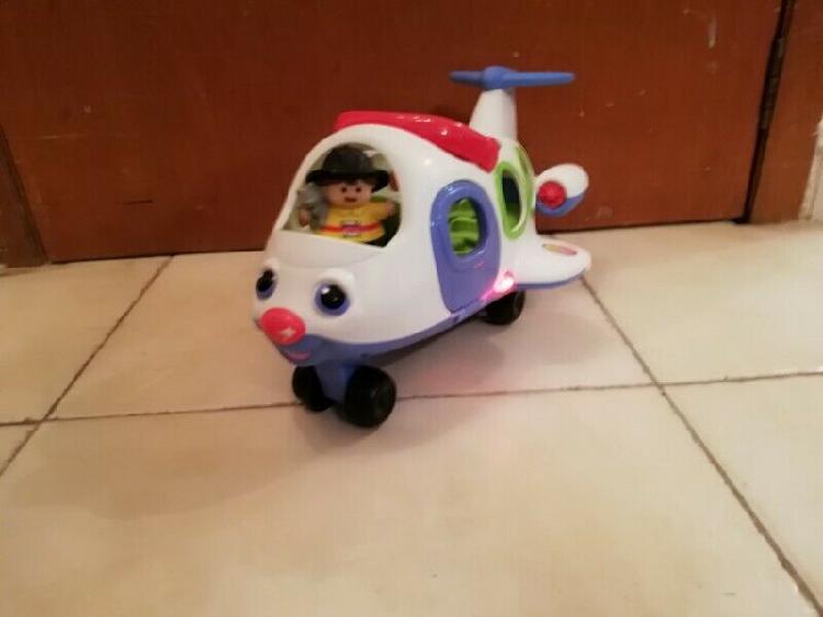 Fisher price little people avión con luces y sonidos