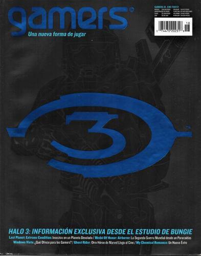 Gamers - No. 18 - Febrero 2007 - Halo 3 - Lost Planet Ghost