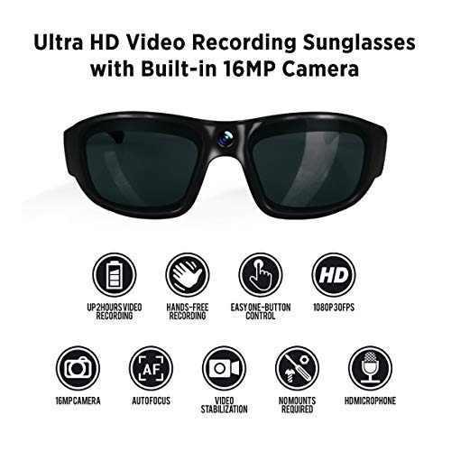 Govision Pro 3 Ultra 1080p Hd Gafas De Camara Grabacion De V