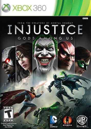 Injustice: Gods Among Us Juegos Xbox 360 / One