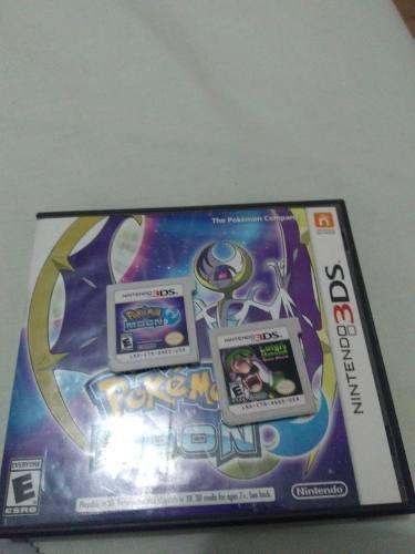 Juegos Para Nintendo 3ds. Pokemon Luna Y Luigi Mansión