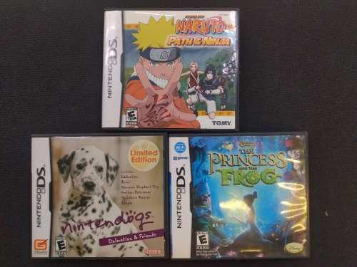 Juegos Para Nintendo Ds Combito Rico Con Caja