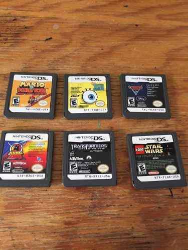 Lote De Varios Juegos Para Nintendo Ds 2ds Y 3 Ds