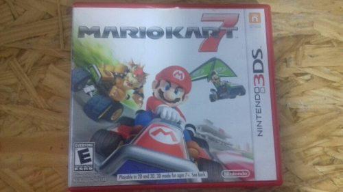 Mario Kart 7 Nintendo 3ds / Juegos Nintendo 3ds