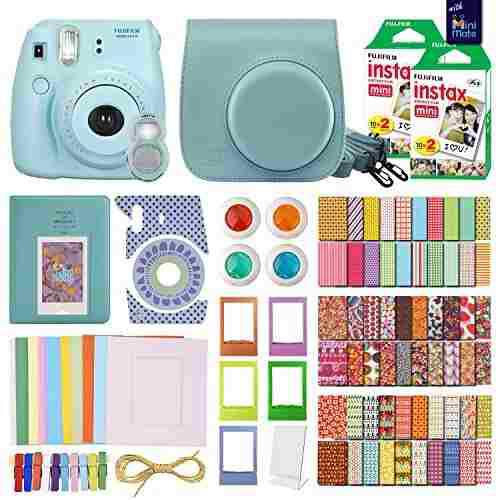 Minimate Instax Mini 8 Camara Con 40 Instax Film Y Paquete D