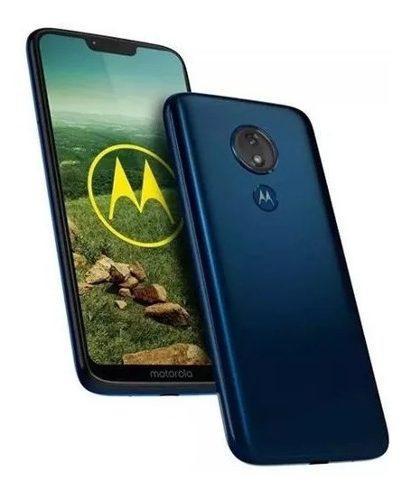 Motorola G7 Power 4+64 Gb Para At&t. Azul Marino Sin Sim