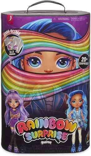 Muñeca 36cm Rainbow Surprise Poopsie 20 Sorpresas Diy Slime
