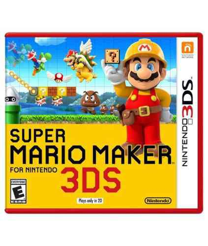Nintendo 3ds Juegos Mario Maker Y Yo Kai Watch