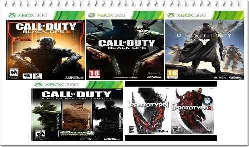 Pack 8 Juegos Para Xbox 360 Licencia Activa