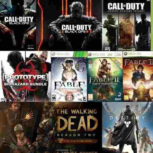 Pack's Juegos Xbox 360 C/u