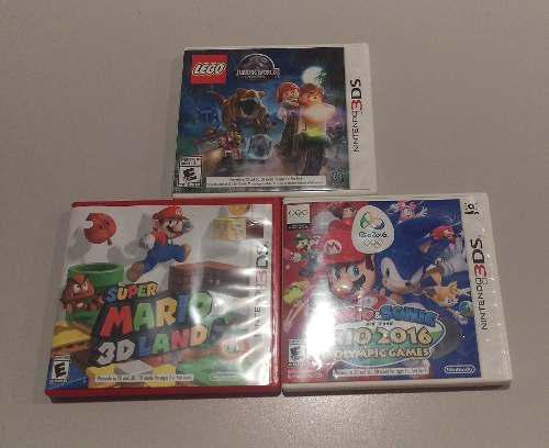 Paquete De 3 Juegos Para Nintendo 3ds