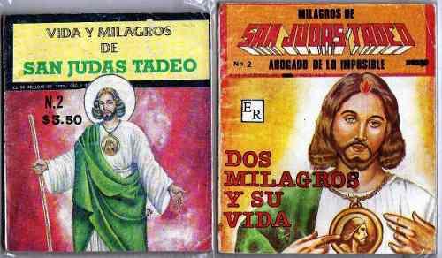 San Judas Tadeo Comic 12 Numeros 30.00 C/u