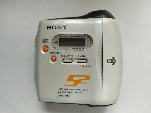 Sony Net Md Walkman Modelo Mz-s1 Walkman No Enciende