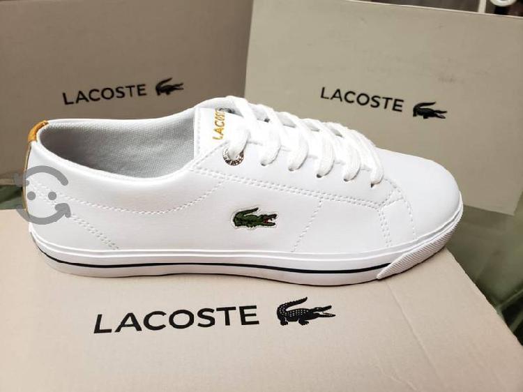 Tenis Lacoste Originales 2.5 y 5.5 Disponible New