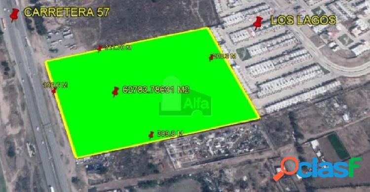 Terreno habitacional en venta en Zona Industrial, San Luis