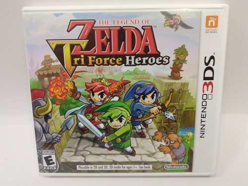 The Legend Of Zelda Tri Force Heroes 3ds Garantizado Juegazo
