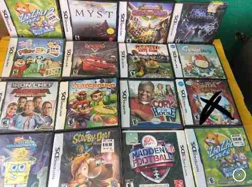 Vídeo Juegos Para Nintendo Ds