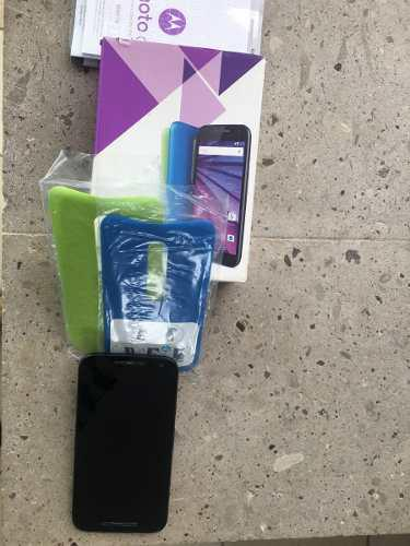 Vendo Motorola G 16g En Perfecto Estado Con Caja Y Fundas