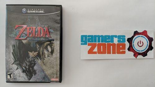 Zelda Twilight Princess Gamecube Completo A Tratar