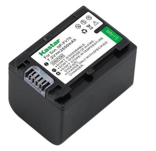 1 Bateria Fv70 / Fh70 Para Sony Dcr-sr15 Hdr-cx105 Dev-50