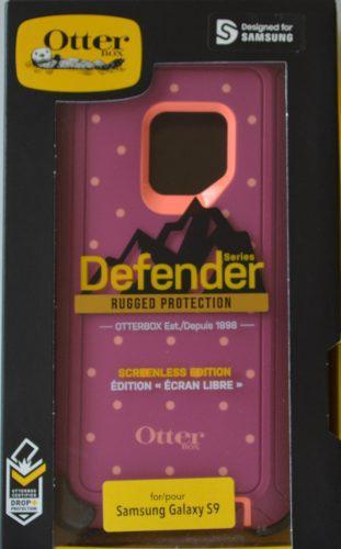Funda Defender Otterbox Samsung Galaxy S9 Con Clip Lila Rosa