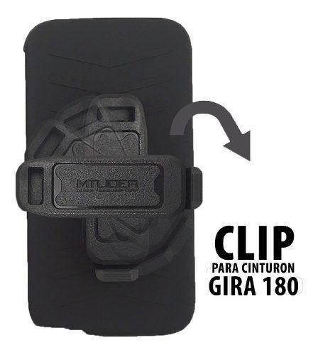 Funda Protector Uso Rudo Clip G Elite Plus Con Envio