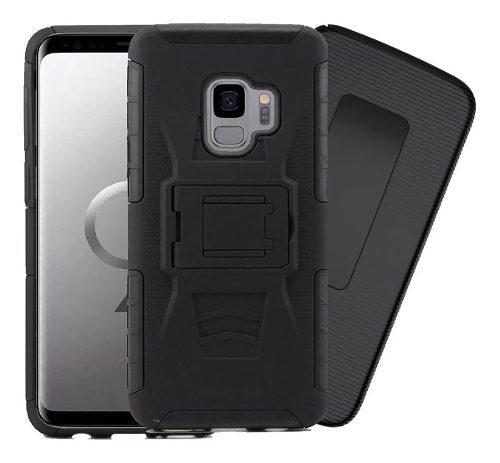 Funda Uso Rudo Galaxy S4 S5 S6 S7 S8 S9 S10 Plus Edge Note