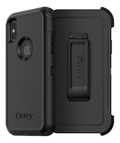 Funda iPhone X Xs Otterbox Defender Holster Clip Original