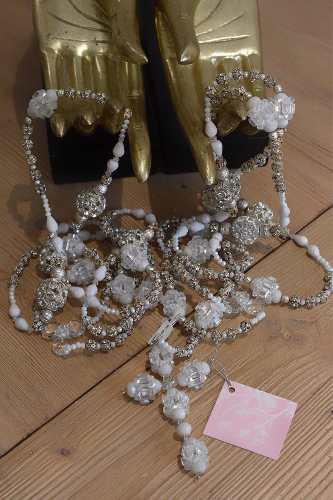 Lazo Matrimonial Boda Con Estuche Cristal Cortado 409p