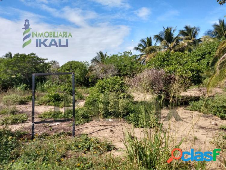 Venta terreno 1050 m² Col. Barra Galindo Tuxpan Veracruz,