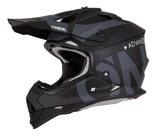 Casco Oneal Motocross Enduro 2 Series Slick Negro Mate